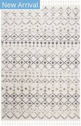 Safavieh Berber Fringe Shag Bfg516a Cream - Dark Grey Area Rug