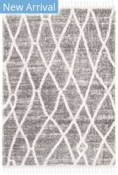 Safavieh Berber Fringe Shag Bfg628f Grey - Cream Area Rug