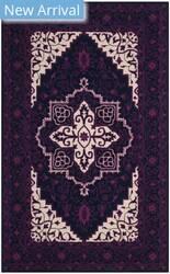 Safavieh Bellagio Blg597a Purple - Ivory Area Rug
