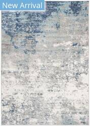 Safavieh Brentwood Bnt822f Light Grey - Blue Area Rug