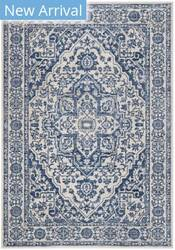 Safavieh Brentwood Bnt832m Navy - Light Grey Area Rug