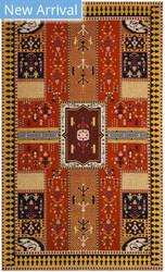 Safavieh Classic Vintage Clv512d Orange - Gold Area Rug