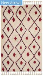 Safavieh Casablanca Csb727a Ivory - Fuchsia Area Rug