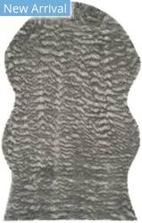Safavieh Faux Sheep Skin Fss118b Dark Grey Area Rug