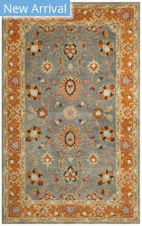 Safavieh Heritage Hg401a Blue - Orange Area Rug