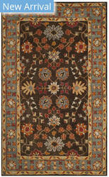 Safavieh Heritage Hg405a Charcoal - Blue Area Rug