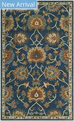 Safavieh Heritage Hg654a Navy Area Rug
