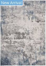 Safavieh Invista Inv481f Grey - Blue Area Rug