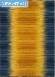 Safavieh Kilim Klm821b Dark Blue - Yellow Area Rug