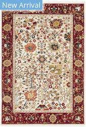 Safavieh Kashan Ksn303d Ivory - Red Area Rug