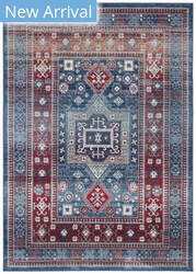 Safavieh Kazak Kzk122r Red - Blue Area Rug