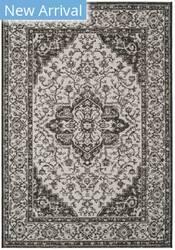 Safavieh Linden Lnd137a Light Grey - Charcoal Area Rug