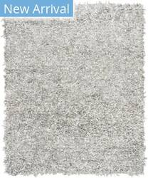 Safavieh Leather Shag Lsg601c Grey - White Area Rug