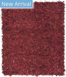 Safavieh Leather Shag Lsg601d Red Area Rug