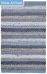 Safavieh Montauk Mtk975b Blue - Multi Area Rug
