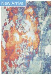Safavieh Prism Psm533a Cream - Aqua Area Rug