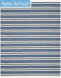 Ralph Lauren Hand Woven Rlr2462b Terry White - French Blue Area Rug