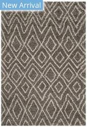 Safavieh Hudson Shag Sgh332b Grey - Ivory Area Rug
