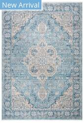 Safavieh Victoria Vic902n Blue - Grey Area Rug