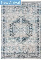 Safavieh Victoria Vic933f Blue - Grey Area Rug