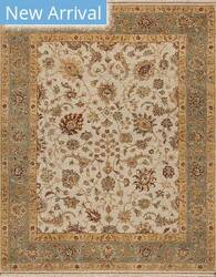 Samad Sovereign Elizabeth Ivory Light - Green Area Rug