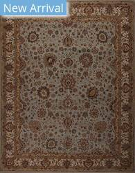 Samad Cote D'azure Toulon Baby Blue - Ivory Area Rug