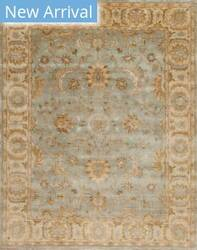 Samad Notting Hill Pembridge Sky Blue - Light Gold Area Rug
