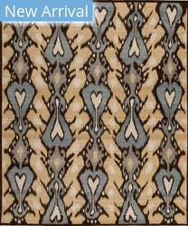 Samad Jazz Bossa Nova Chocolate Area Rug