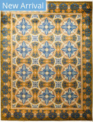 Solo Rugs Suzani M1891-191 Yellows Area Rug