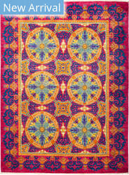 Solo Rugs Suzani M1891-216 Pinks Area Rug