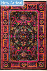 Solo Rugs Suzani M1891-246 Pinks Area Rug