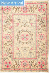 Solo Rugs Suzani M1891-250 Pinks Area Rug