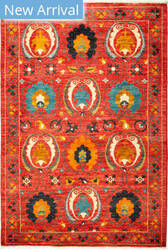 Solo Rugs Suzani M1891-255 Reds Area Rug