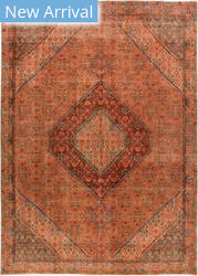 Solo Rugs Vintage M1891-349 Browns Area Rug