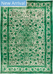 Solo Rugs Vintage M1891-357 Greens Area Rug