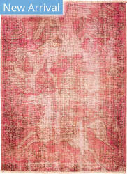 Solo Rugs Vintage M1891-381 Pinks Area Rug