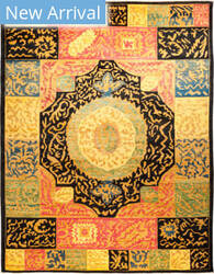 Solo Rugs Kaitag M1891-393 Yellows Area Rug