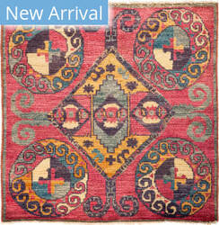 Solo Rugs Kaitag M1891-410 Pinks Area Rug