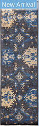 Solo Rugs Eclectic M1896-382 Greys Area Rug
