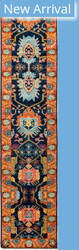 Solo Rugs Eclectic M1896-390 Blues Area Rug