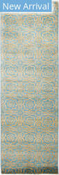 Solo Rugs Eclectic M1896-395 Blues Area Rug