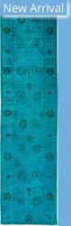 Solo Rugs Vibrance M1896-427 Blues Area Rug
