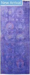 Solo Rugs Vibrance M1896-442 Purples Area Rug