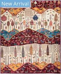 Solo Rugs Tribal M1898-302  Area Rug