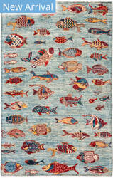 Solo Rugs Tribal M1898-334  Area Rug