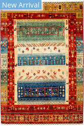Solo Rugs Tribal M1898-391  Area Rug