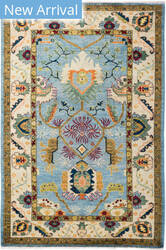 Solo Rugs Eclectic M1900-58  Area Rug