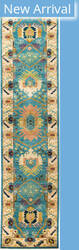 Solo Rugs Eclectic M1900-66  Area Rug