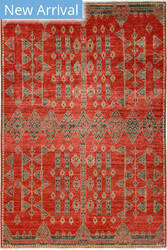 Solo Rugs African M1909-45  Area Rug