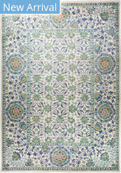 Solo Rugs Floral M1910-645  Area Rug